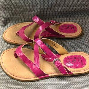 Pink boc Born Sandals Size 7